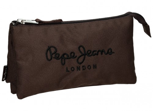 6344354  Portatodo Triple  Pepe Jeans Plain Color