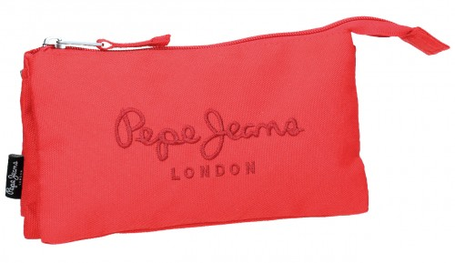 6344355  Portatodo Triple  Pepe Jeans Plain Color