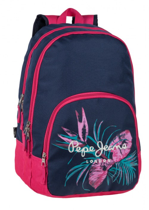 63724A1 Mochila Pepe Jeans Honey Adaptable a Carro 2 Compartimentos