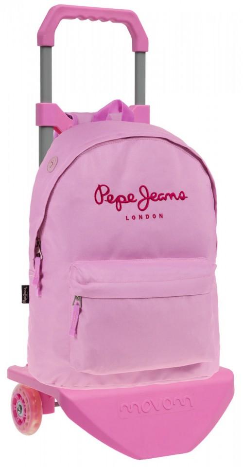 64723M1  Mochila Carro Pepe Jeans Pink