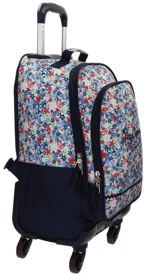 Mochila Trolley 4 Ruedas Pepe Jeans 6512851 lateral