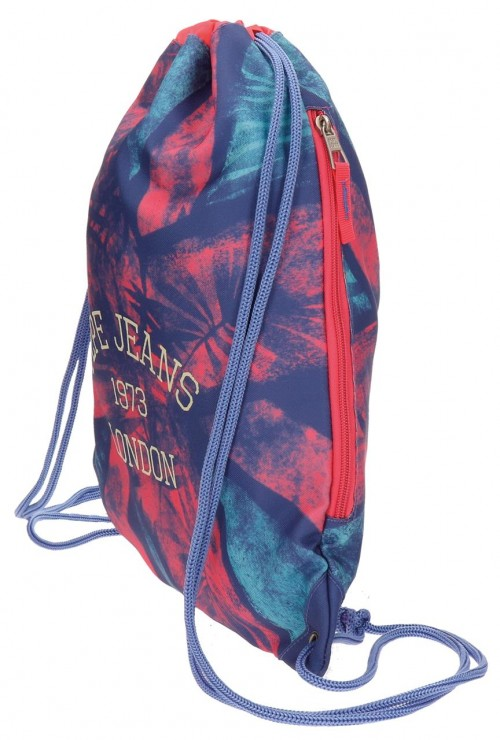 Gym Sac con Cremallera Pepe Jeans 6533751 lateral
