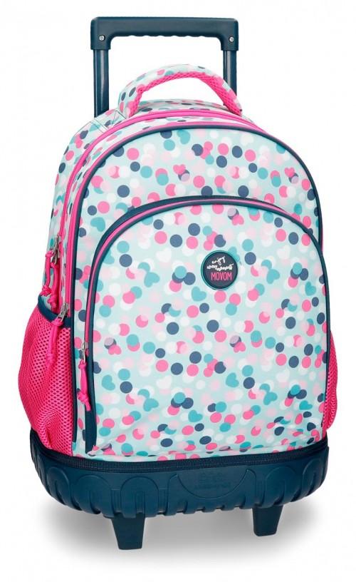 3162961 mochila reforzada compacta movom confeti azul
