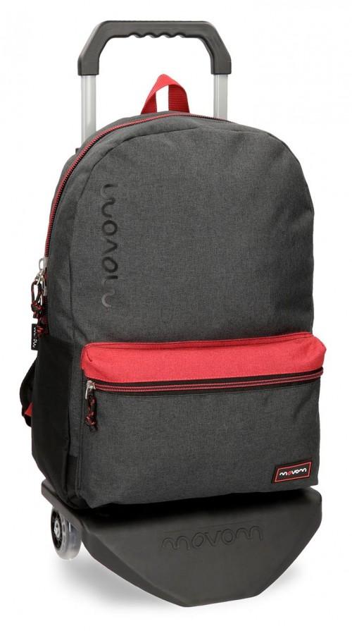 31823N1 mochila con carro movom babylon negro