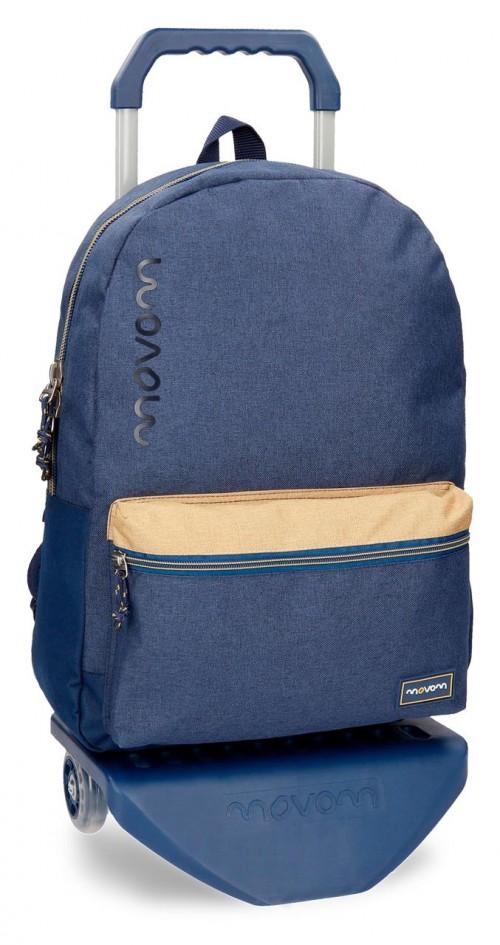 31823N2 mochila con carro movom babylon azul