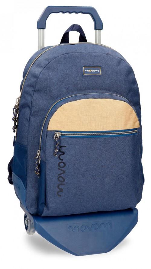 31825N2 mochila reforzada con carro movom babylon azul