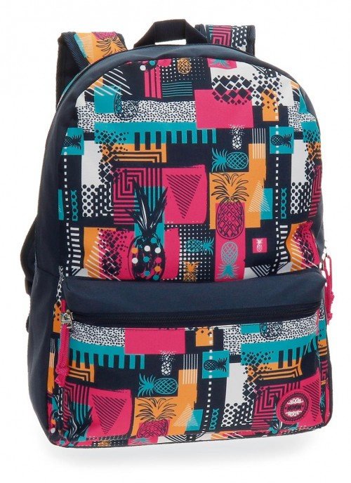 3362361 mochila adaptable  42 cm movom pineapple