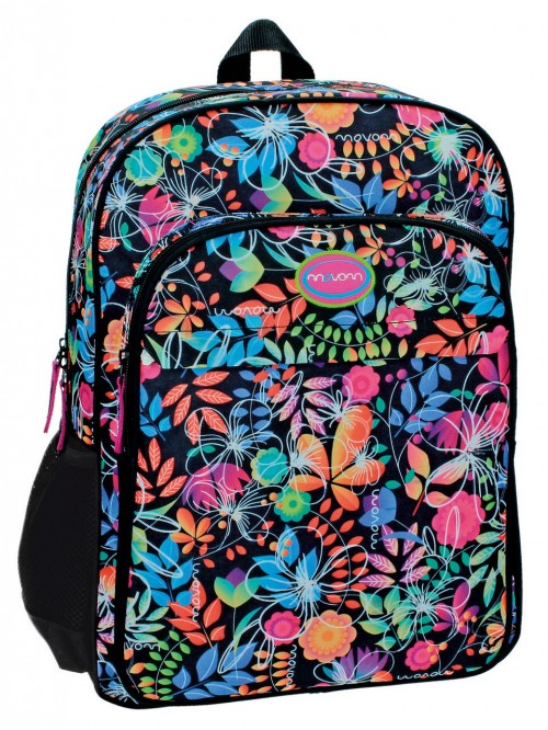 34423A1 Mochila Movom Tropic Dark Adaptable