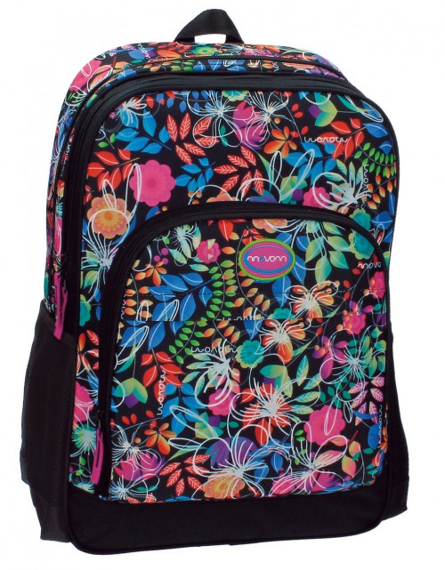 34425A1 Mochila Doble Movom Tropic Dark Adaptable