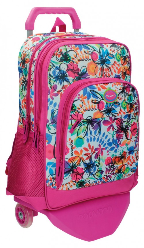 34425M2 Mochila Doble Movom Tropic Light con Carro