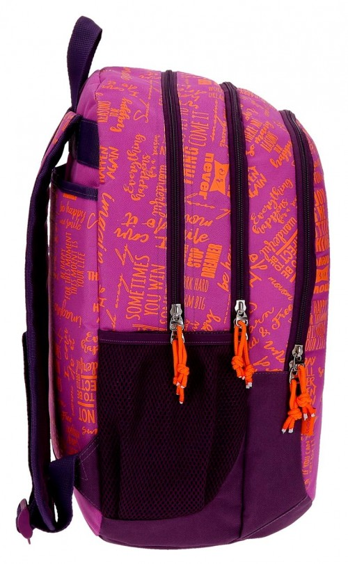 Mochila Doble Compartimento  Movom Smille 51824B2 lateral