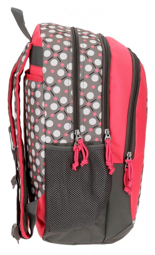 Mochila Doble Movom Flamenca Gris Adaptable 51924B2  lateral