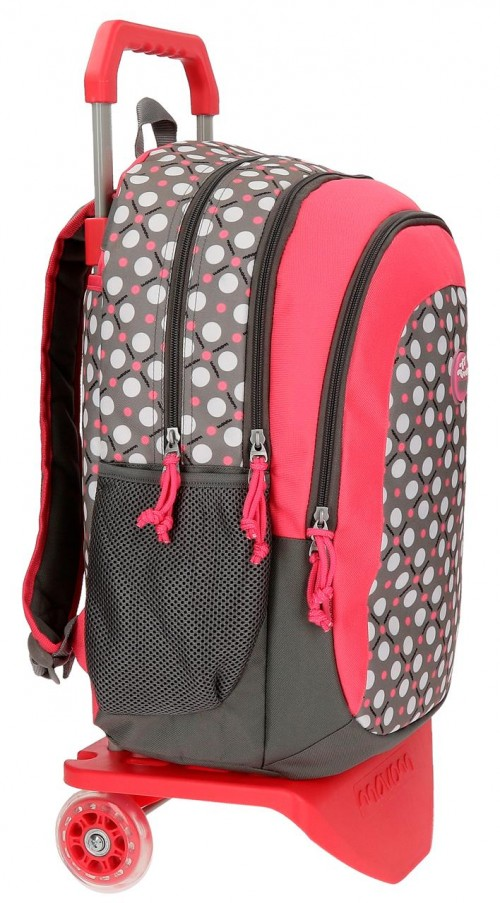 Mochila Doble Carro Movom Flamenca Gris 51924N2 lateral