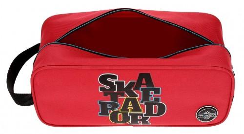 Zapatillero Movom Skateboard Rojo 5224562 Interior