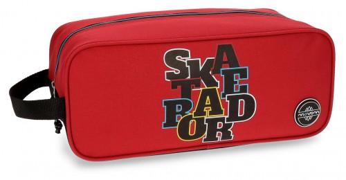 Zapatillero Movom Skateboard Rojo 5224562