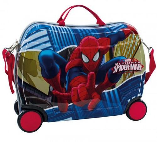 Maleta Infantil Spiderman 4 ruedas 2459951