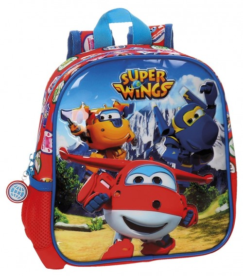 21420B1 mochila 25 cm adaptable super wings