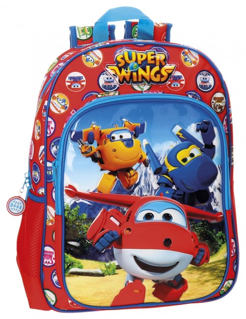 21423B1 mochila 38 cm adaptable super wings