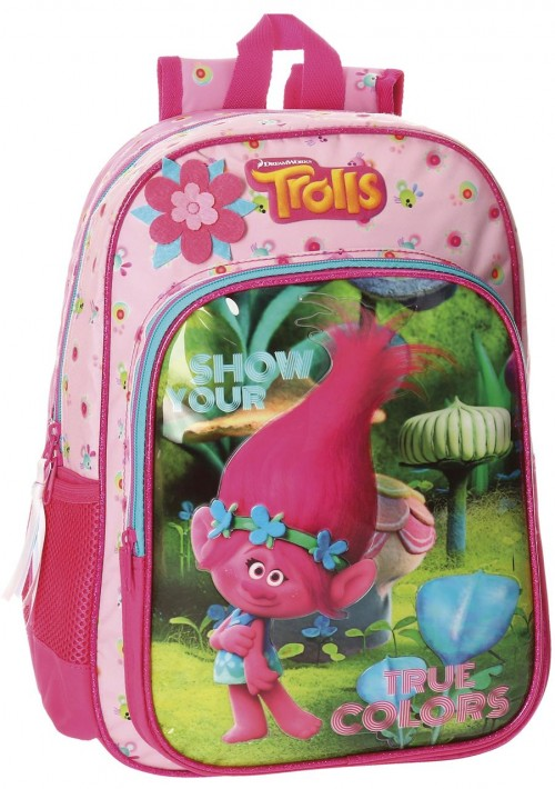 27523A1 mochila 38 cm adaptable trolls true
