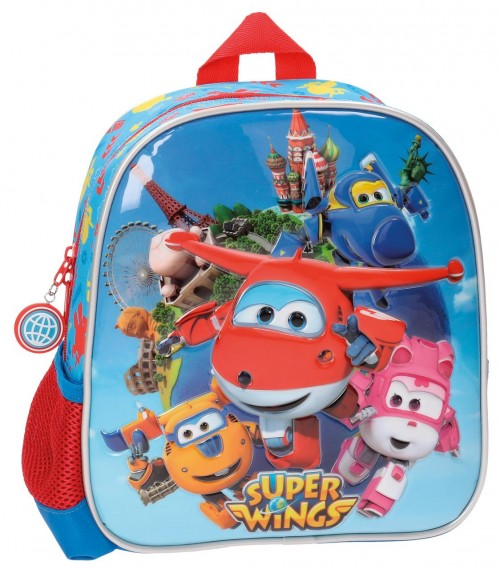 Mochila Adaptable Guardería 25 cm Superwings 28420A1