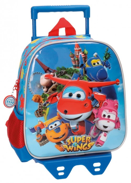 Mochila Carro Guardería 25 cm Superwings 28420M1