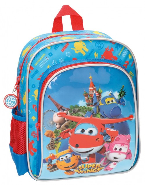 Mochila Adaptable  28 cm Superwings 28421A1