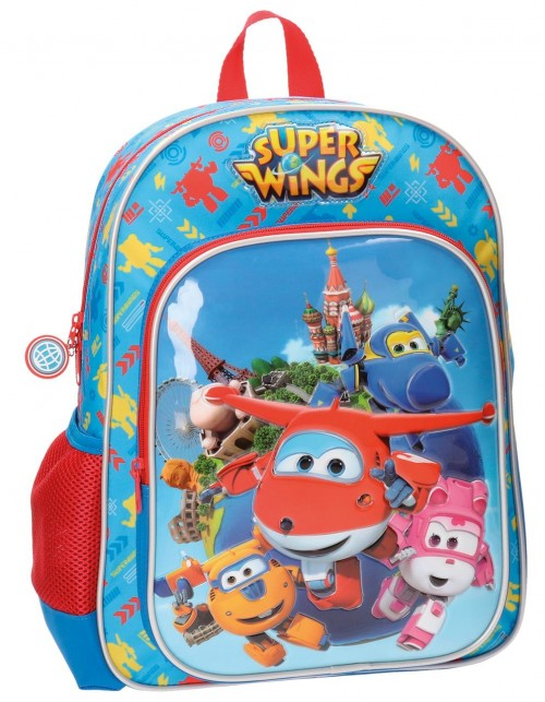 Mochila Adaptable Superwings  38 cm 28423A1