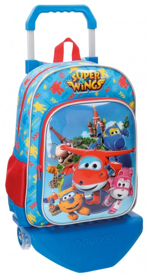 Mochila Carro Superwings  38 cm 28423M1