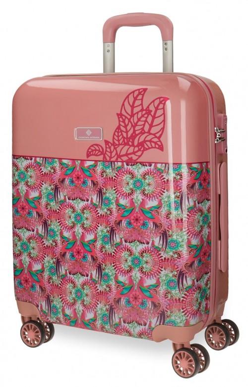 5568762 maleta de cabina catalina estrada faisan fucsia
