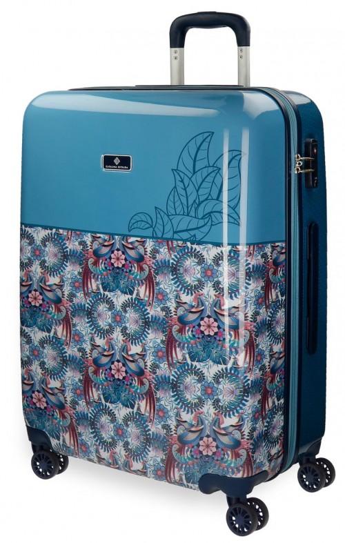 5568861 maleta mediana catalina estrada faisan azul