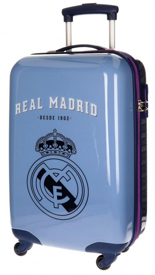 Maleta Trolley de Cabina Real Madrid Azul 5591451