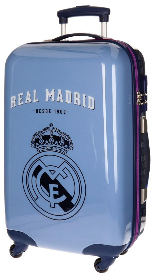 Maleta Trolley mediana del real madrid azul 5591551