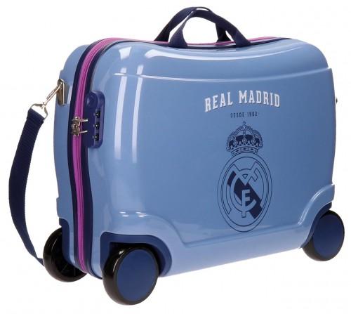 Maleta Infantil 4 Ruedas Real Madrid 50 cm 5629951