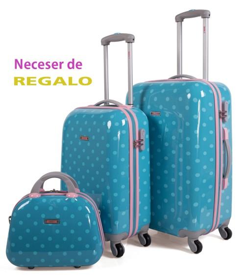 Juego maletas SKPA T 66400 + neceser (regalo) OFERTA