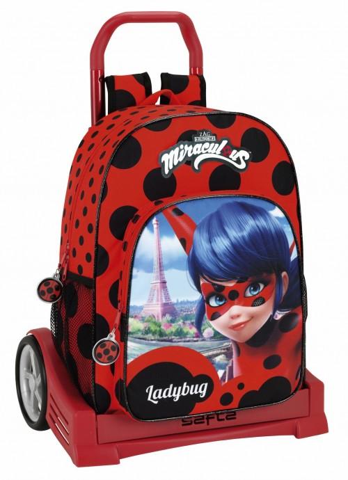Mochila de Ladybug con Carro Evolutions  611702860