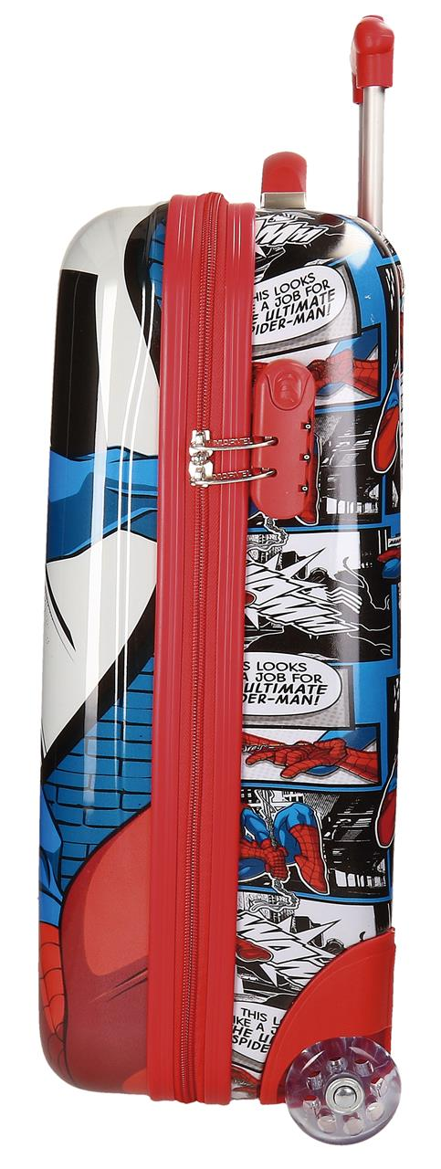 Maleta Cabina Spiderman 2 Ruedas 2160461 lateral