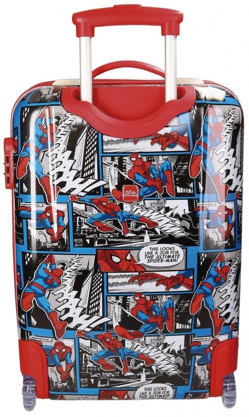 Maleta Cabina Spiderman 2 Ruedas 2160461 dorsal
