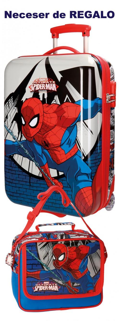 Maleta Cabina Spiderman 2 Ruedas 2160461