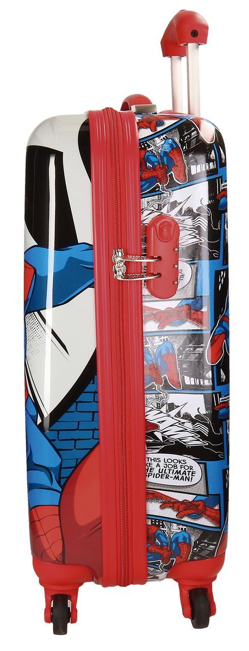 Maleta 4 Ruedas Cabina Spiderman 2161761 lateral