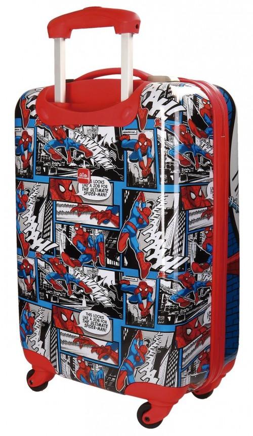 Maleta 4 Ruedas Cabina Spiderman 2161761 dorsal