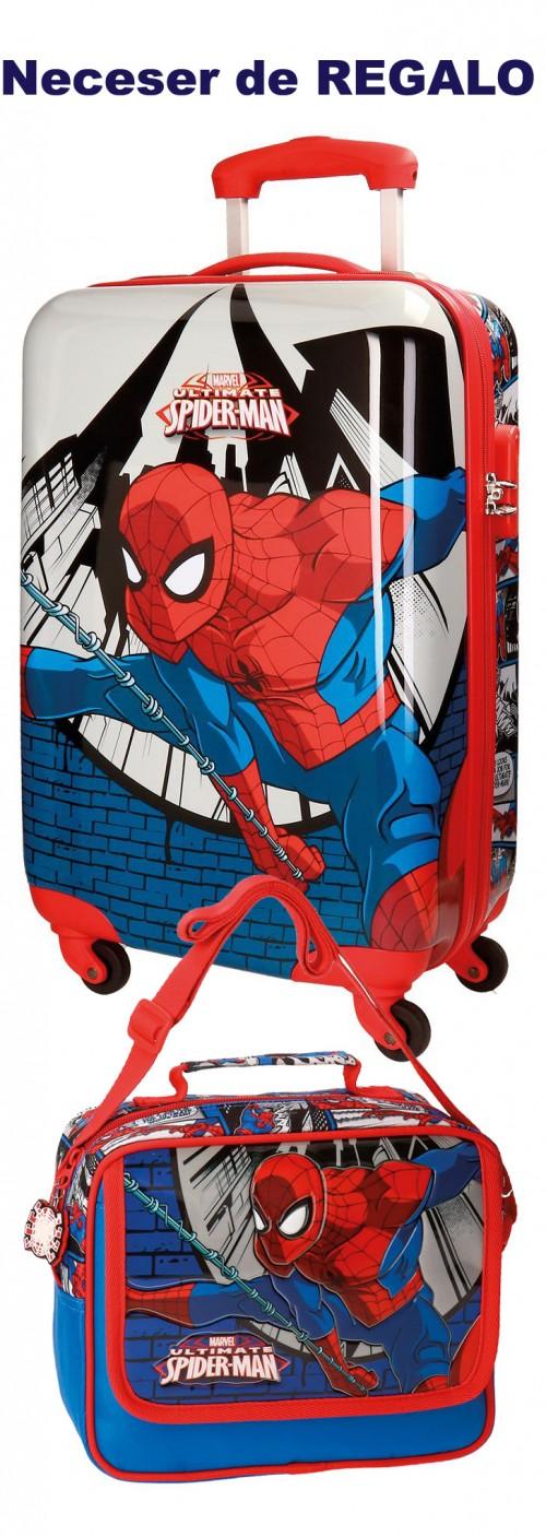 Maleta 4 Ruedas Cabina Spiderman 2161761
