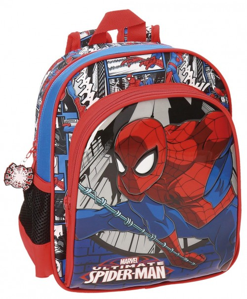 Mochila Adaptable Spiderman 28 cm 21621B1