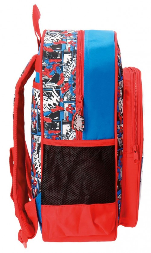 Mochila Adapotable 38 cm Spiderman 21623B1 lateral