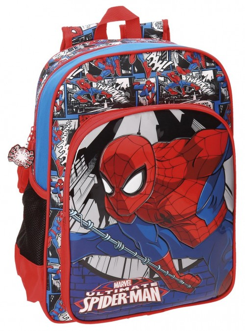 Mochila Adapotable 38 cm Spiderman 21623B1
