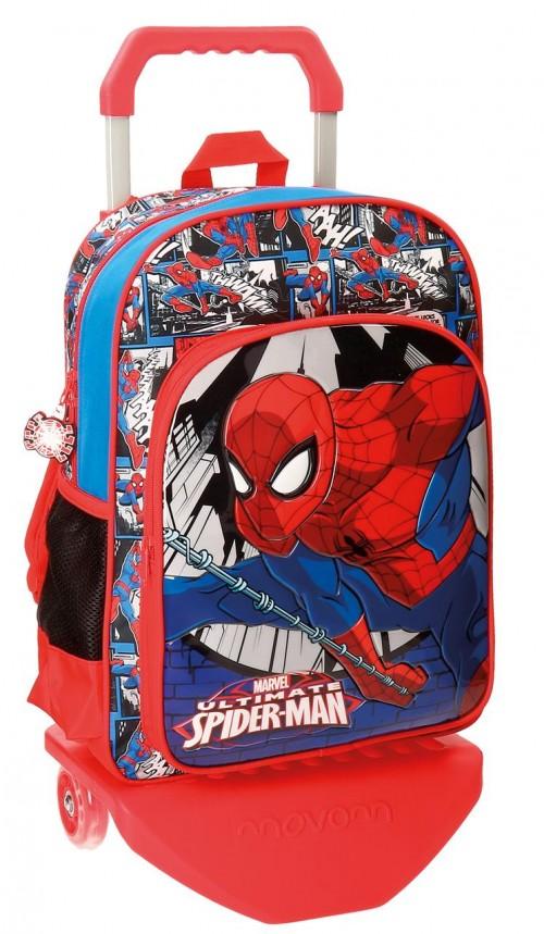 Mochila con Carro 38 cm Spiderman 21623N1