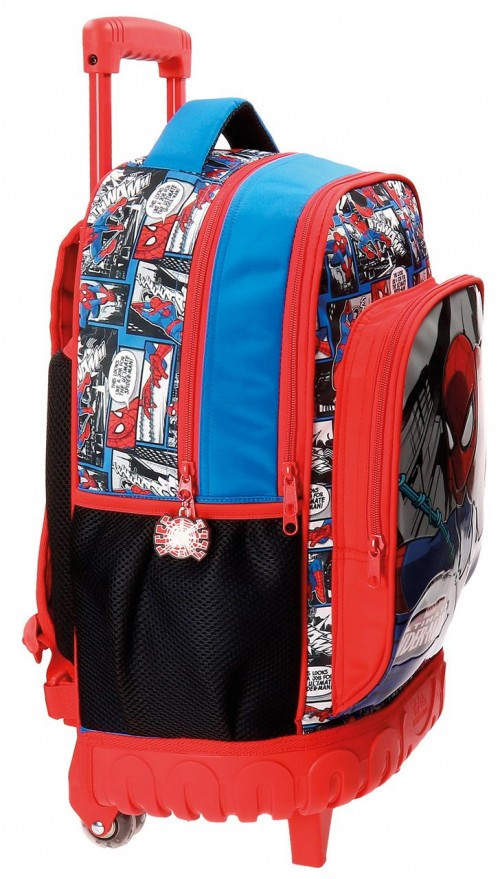Mochila Compacta Spiderman 2162961 lateral