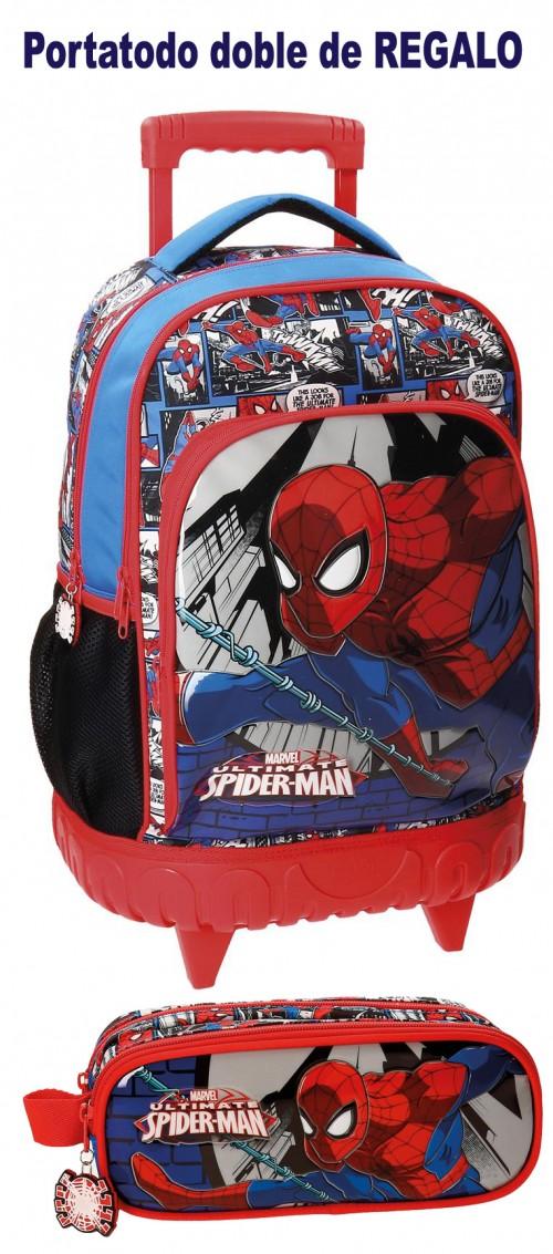Mochila Compacta Spiderman 2162961