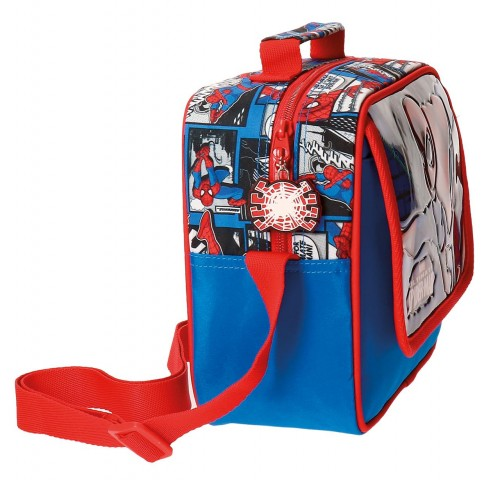 Neceser Adaptable Bandolera Spiderman 2164861 lateral