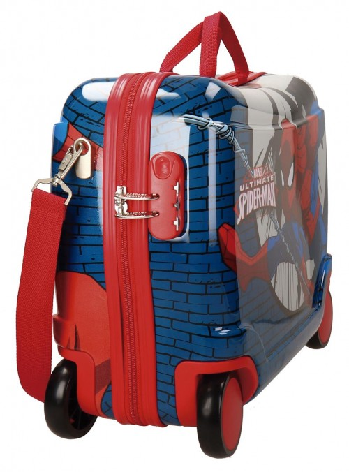 Maleta Infantil 4 Ruedas Spiderman 2169961 lateral
