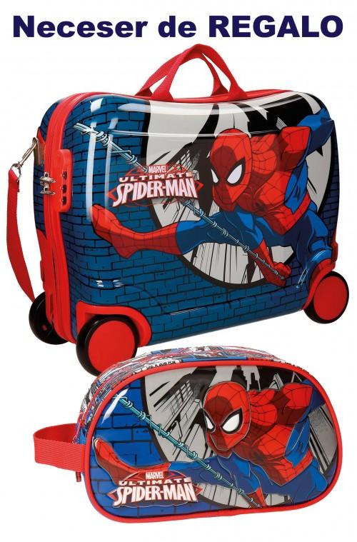 Maleta Infantil 4 Ruedas Spiderman 2169961